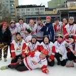 Maailmanmestarit 2017 Hockey Cats